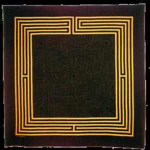 labyrinthe jaune-noir058